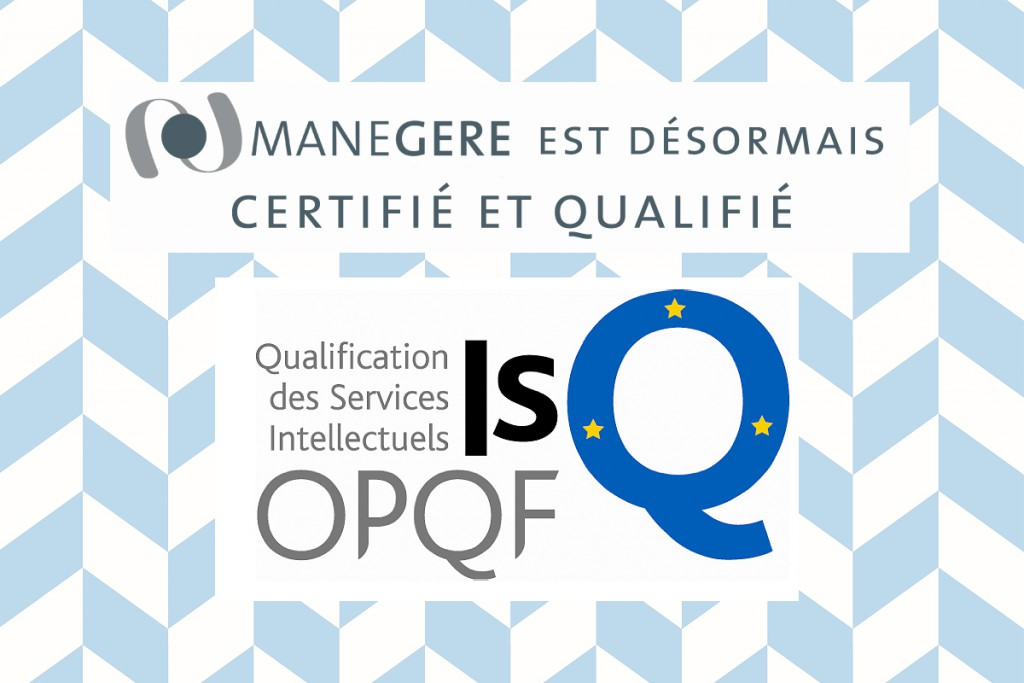 MANEGERE certification ISQ-OPQF