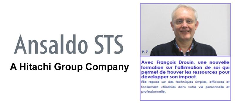 Interview Francois Drouin ANSALDO-MANEGERE