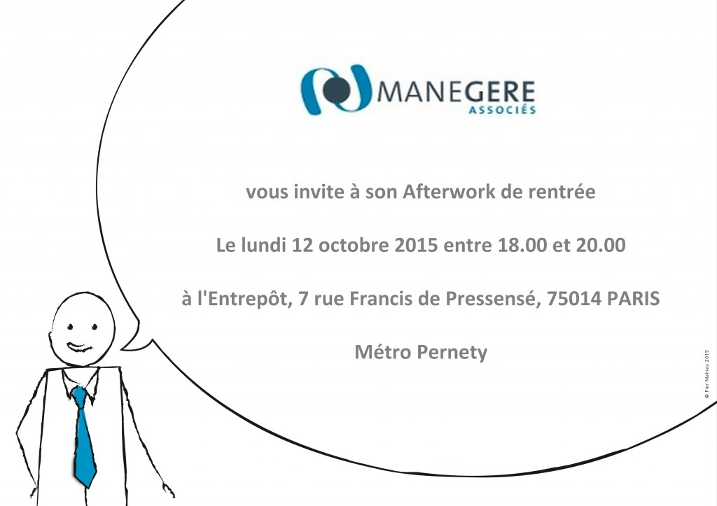 Invitation Afterwork du 12102015