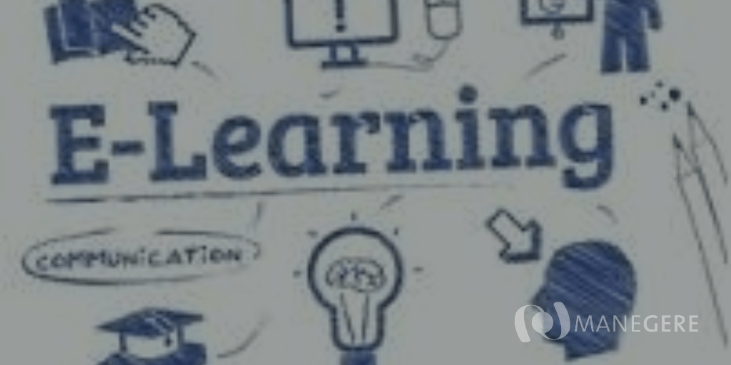 e learning + logo