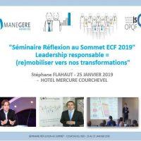 Séminaire Réflexion au Sommet ECF 2019